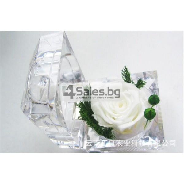 Вечна роза изключителен подарък за всяка жена YSH B 7