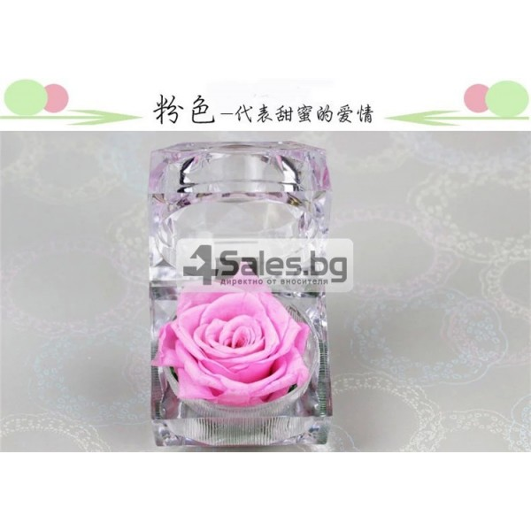 Вечна роза изключителен подарък за всяка жена YSH B 8