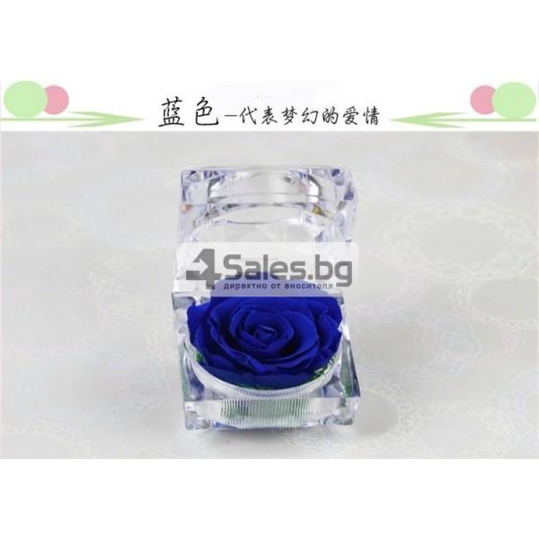 Вечна роза изключителен подарък за всяка жена YSH B 10