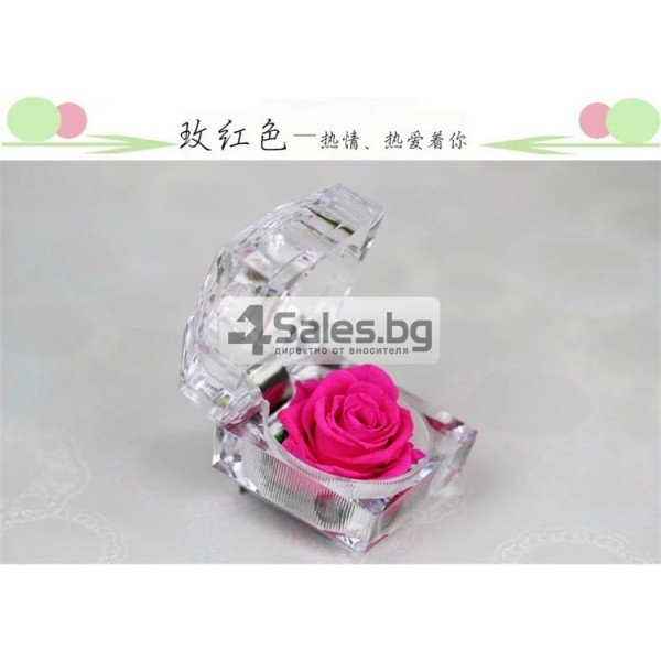 Вечна роза изключителен подарък за всяка жена YSH B 12