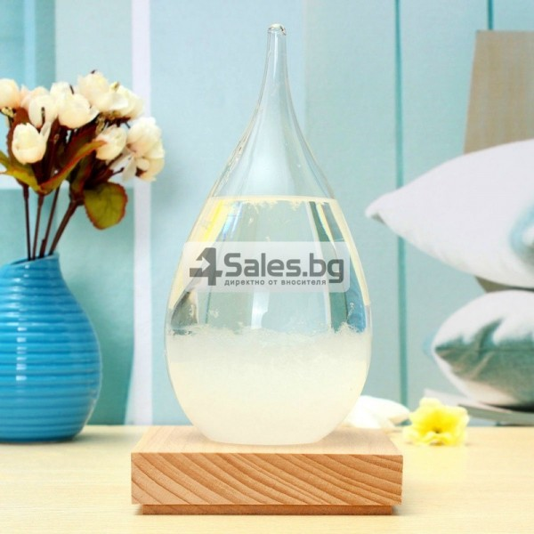 Буреносно стъкло Капка - Поргноза за времето - Творчески подарък за всеки 10
