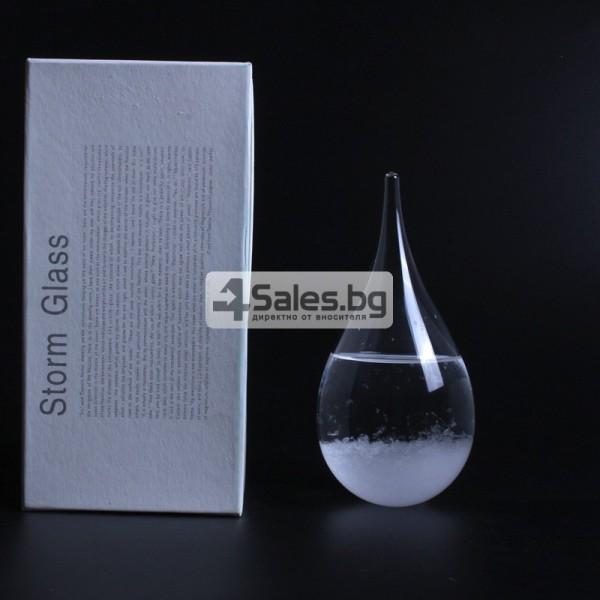 Буреносно стъкло Капка - Поргноза за времето - Творчески подарък за всеки 18