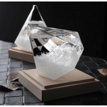 Буреносно стъкло - Диамант призма Уникален подарък