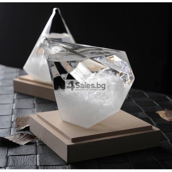 Буреносно стъкло - Диамант призма Уникален подарък TQY6