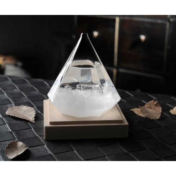Буреносно стъкло - Диамант призма Уникален подарък TQY6 3