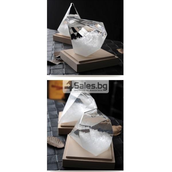 Буреносно стъкло - Диамант призма Уникален подарък TQY6 9