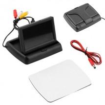 Портативен 4.3 инча монитор за кола за паркиране или свързване на видео техника