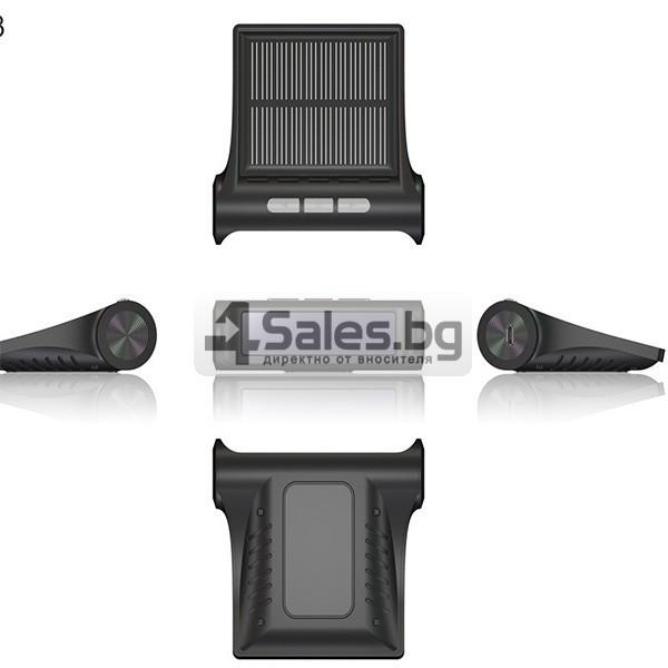 Датчик за налягане на гуми с монитор, сензор за отмерване и 4 вентила GUMI ALARM1 1