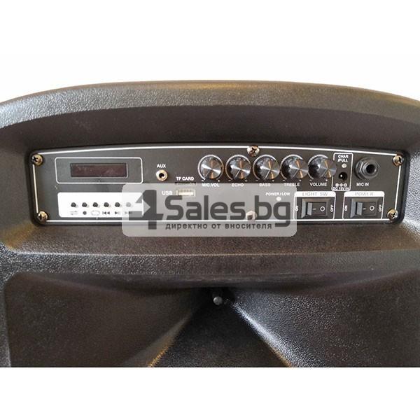 Колона Temeisheng DP-217 Преден контрол -15 инча говорител и 2 микрофон 4