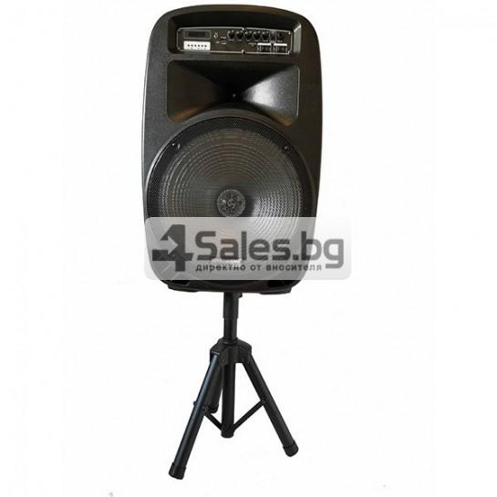 Колона Temeisheng DP-217 Преден контрол -15 инча говорител и 2 микрофон