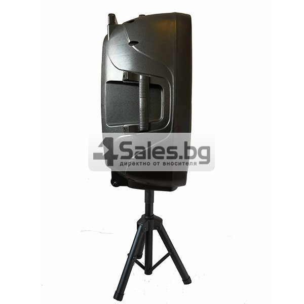 Колона Temeisheng DP-217 Преден контрол -15 инча говорител и 2 микрофон 2