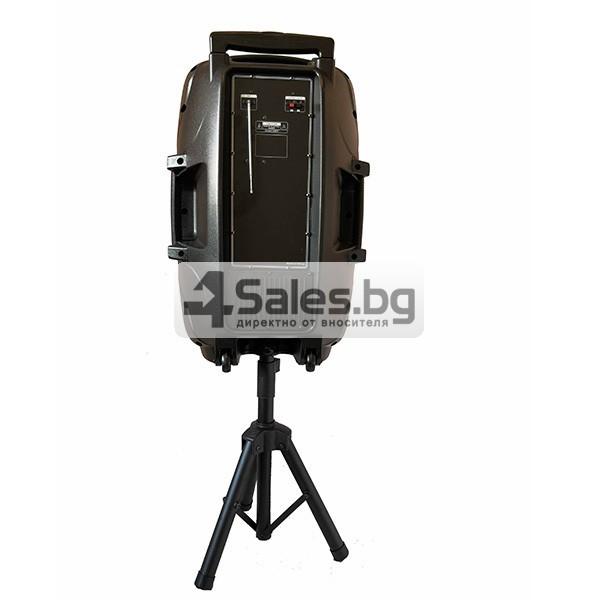Колона Temeisheng DP-217 Преден контрол -15 инча говорител и 2 микрофон 12