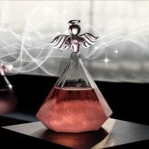 Бутилка ангел кристали слинк TQY5