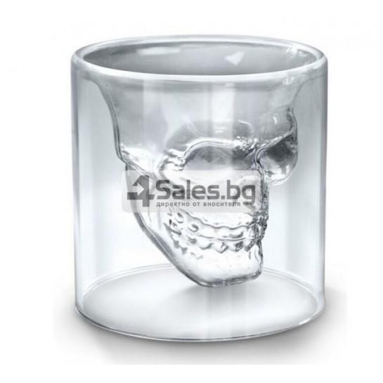 Двойна чаша череп WSKB1