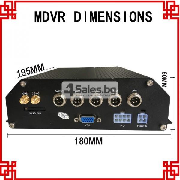 4G MDVR Видеорегистратор за автобус и камион AC63 3
