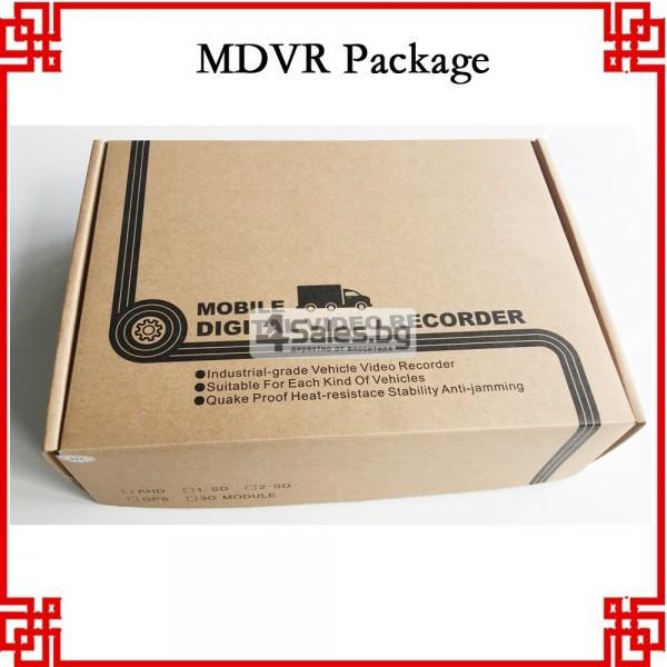 4G MDVR Видеорегистратор за автобус и камион AC63 5