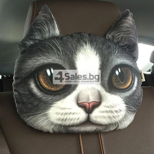 Комфортни възглавници за автомобил коте
