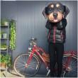 Реалистична декоративна възглавница с дигитален принт на любимата порода куче 2