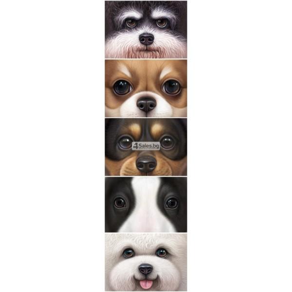 Реалистична декоративна възглавница с дигитален принт на любимата порода куче 4
