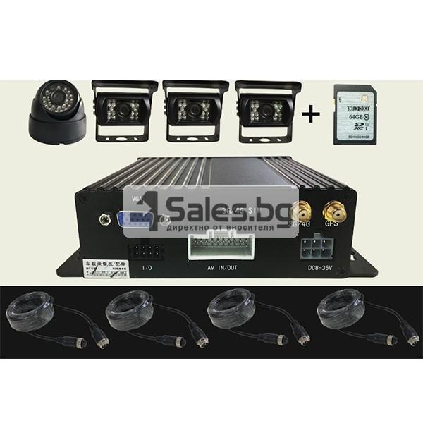 Видеорегистратор за автобус с 4G и GPS AC66