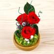Цветя - Дълготрайна икебана YSH H 3
