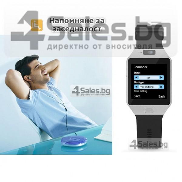 Смарт Часовник телефон с камера и сим карта Оригинален продукт dz09 на Български 36