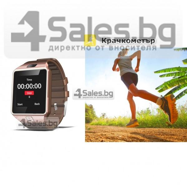 Смарт Часовник телефон с камера и сим карта Оригинален продукт dz09 на Български 37