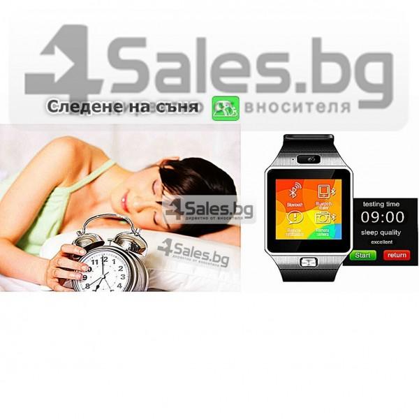 Смарт Часовник телефон с камера и сим карта Оригинален продукт dz09 на Български 38