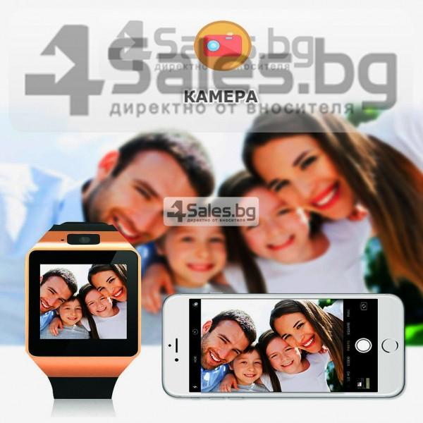 Смарт Часовник телефон с камера и сим карта Оригинален продукт dz09 на Български 46