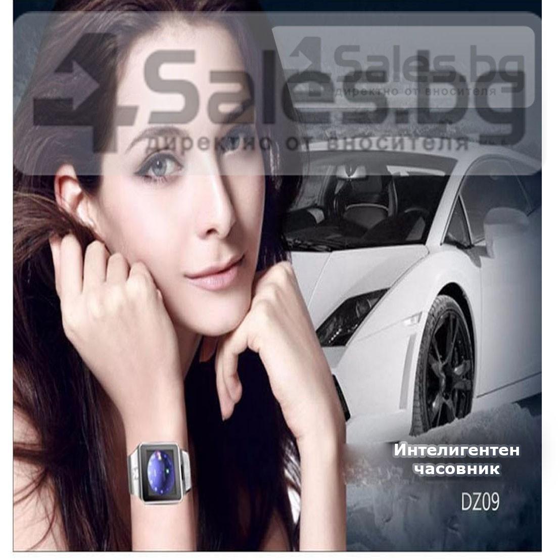 Смарт Часовник телефон с камера и сим карта Оригинален продукт dz09 на Български 48