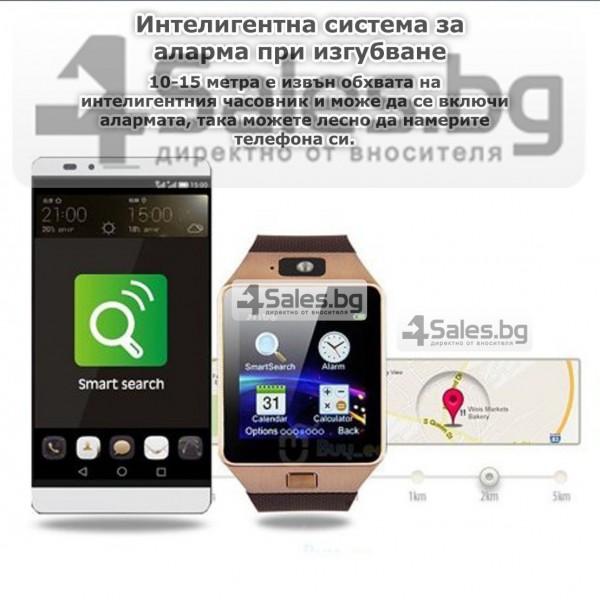 Смарт Часовник телефон с камера и сим карта Оригинален продукт dz09 на Български 65