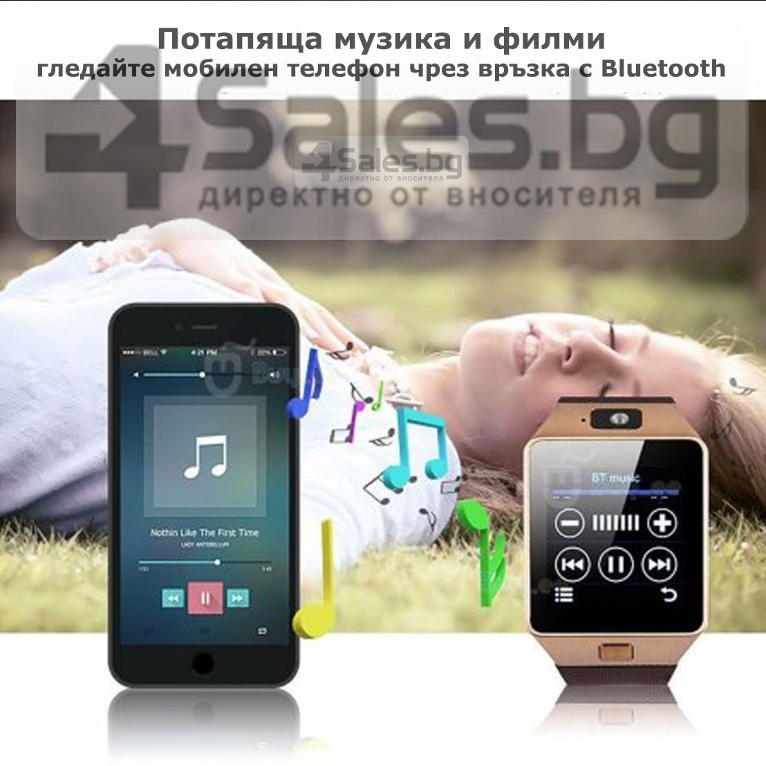 Смарт Часовник телефон с камера и сим карта Оригинален продукт dz09 на Български 67