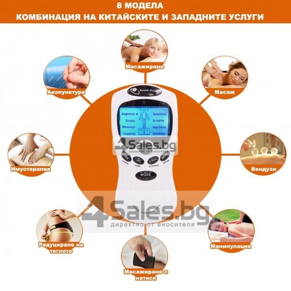 Електростимулатор масажор срещу болки по тялото и физиотерапия TV66 13