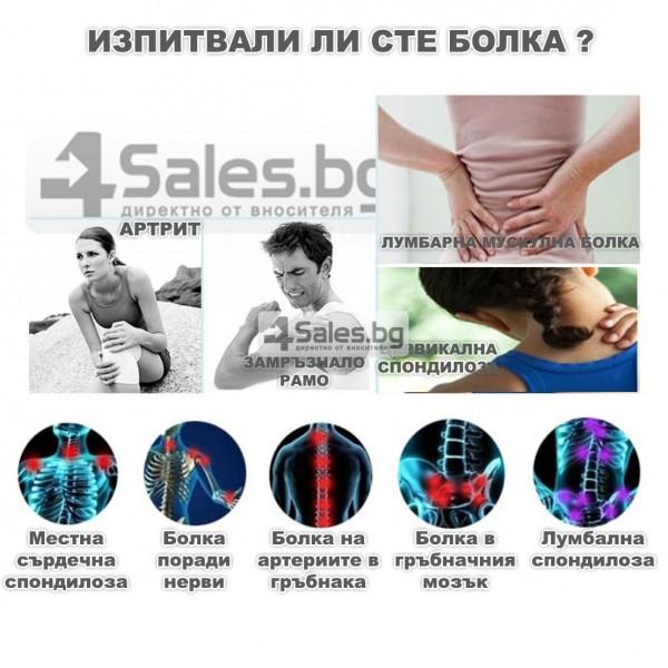 Електростимулатор масажор срещу болки по тялото и физиотерапия TV66 15