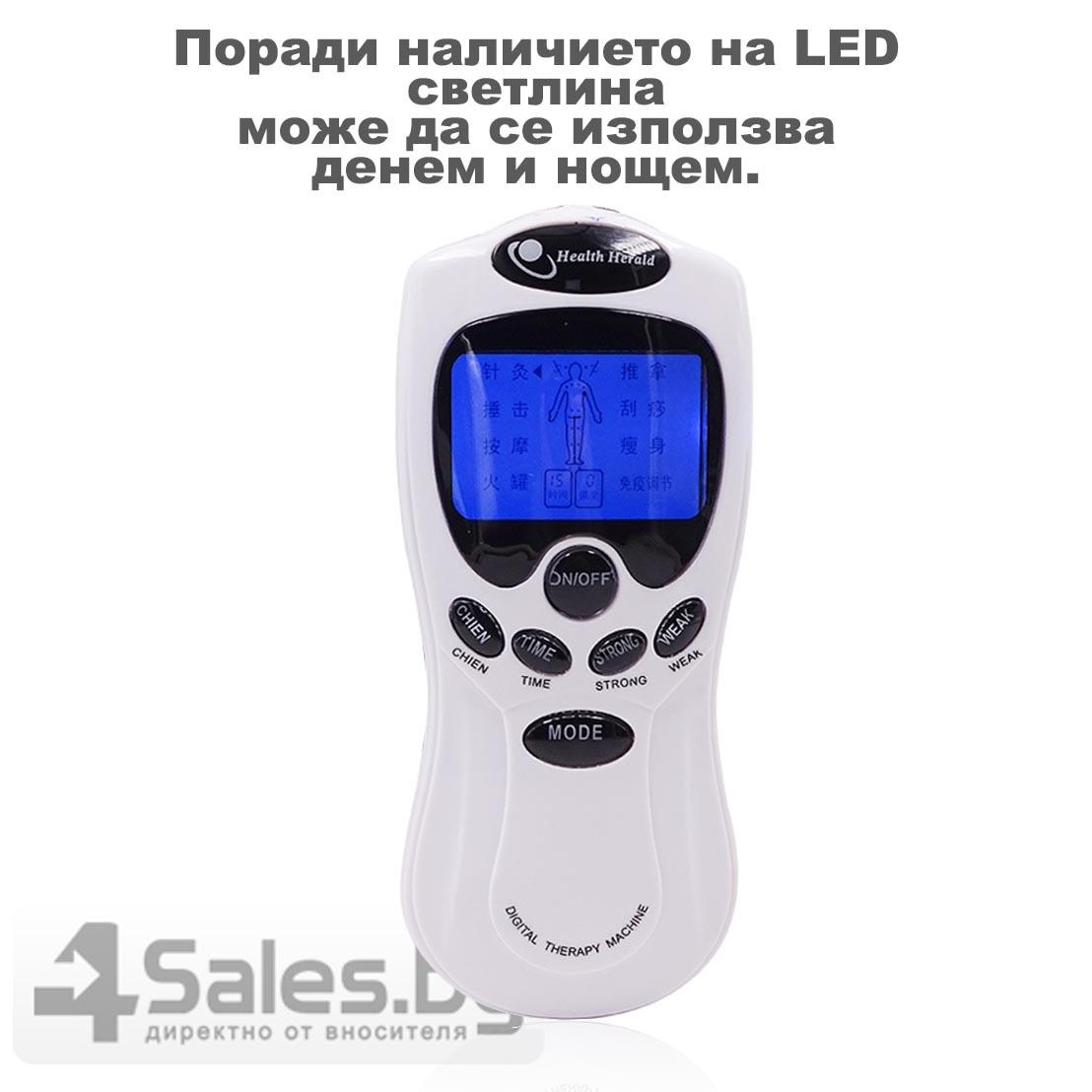 Електростимулатор масажор срещу болки по тялото и физиотерапия TV66 21