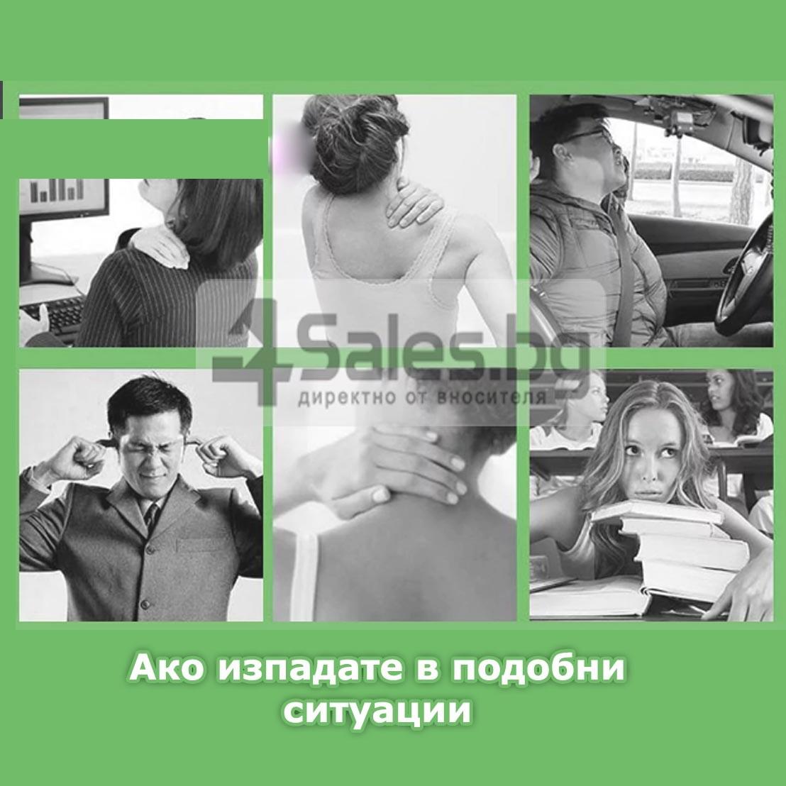Масажна въглавница от мек дишащ материал TV91 14