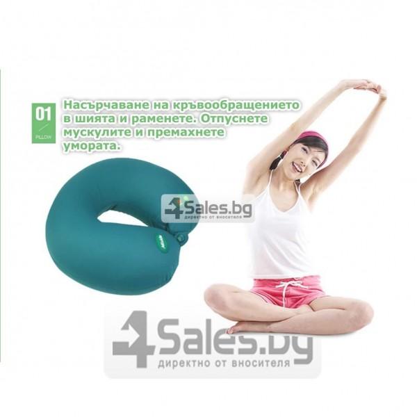 Масажна въглавница от мек дишащ материал TV91 15