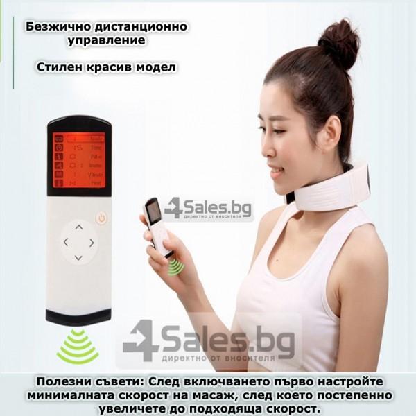 Многофункционален вибриращ масажор за врат TV85 6