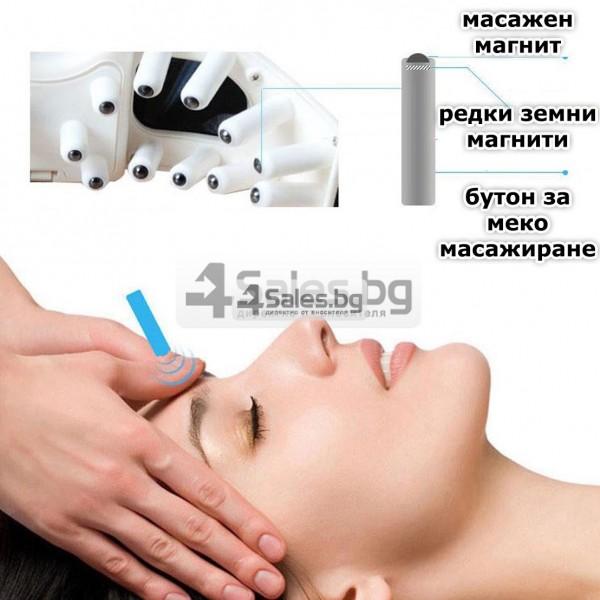 Акупунктурен масажор за очи с вибрации и регулираща се лента TV75 21