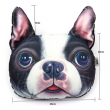 Възглавница за автомобил с щампа куче 2