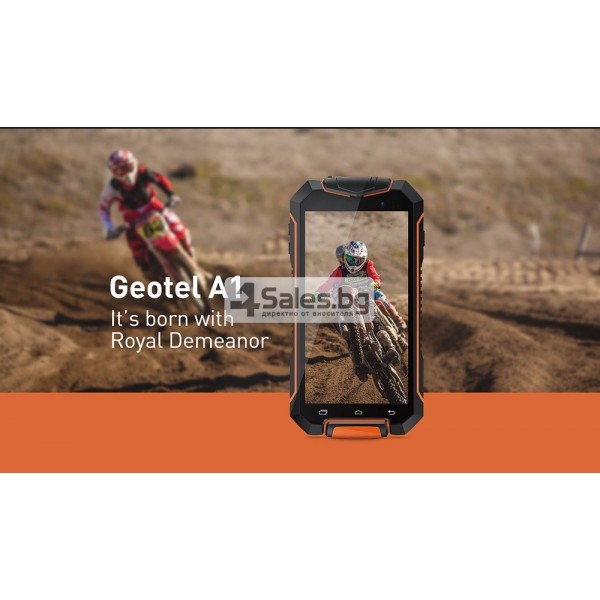 Удароустойчив телефон Geotel A1 8