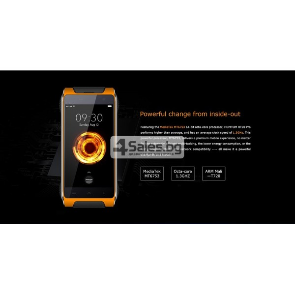 Удароустойчив телефон Homtom HT20 Pro 8