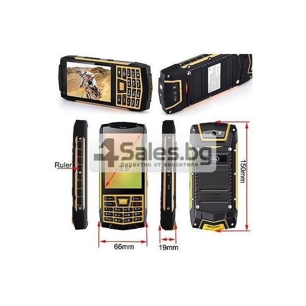 Телефон Humer N2 CAT с радиостанция 5