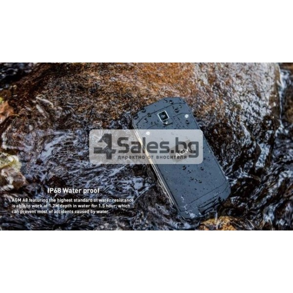 Устойчив на удари и вода смартфон със 64 GB или 32 GB вградена памет 6