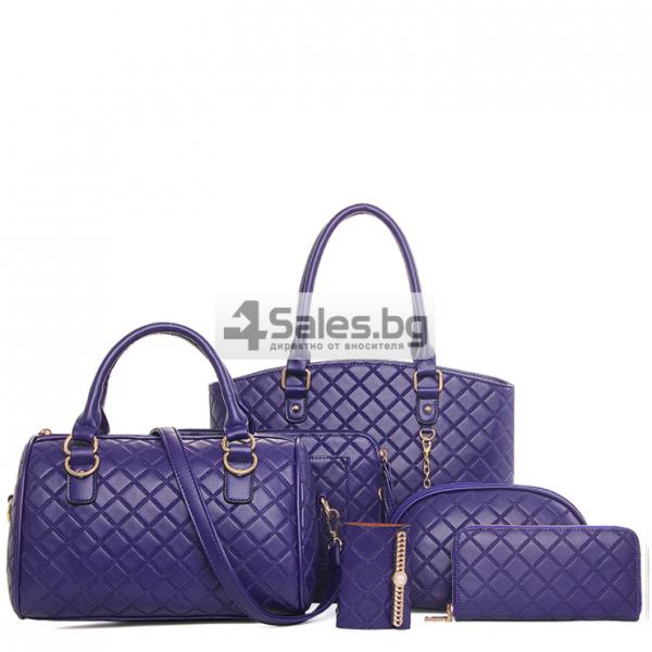 Чанти лукс стил шанел BAG70 5