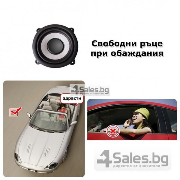 Bluetooth handsfree свободни ръце за волан на автомобил с високоговорител HF1 19