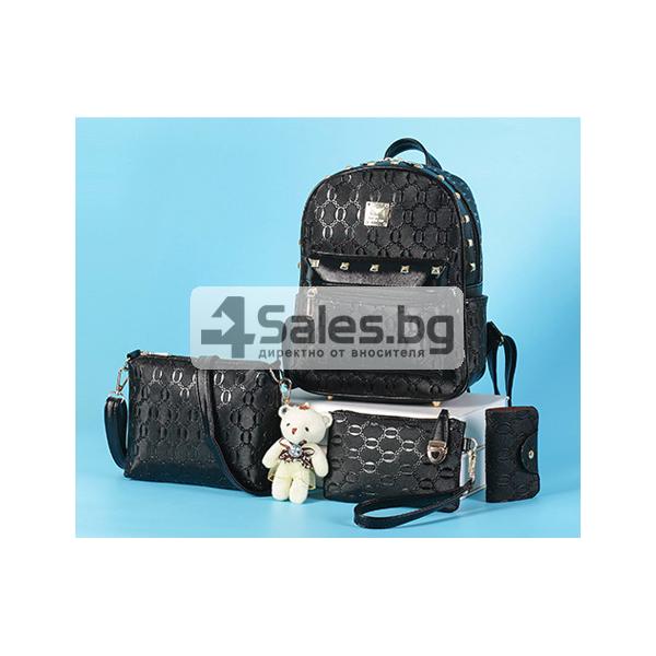Комплект раница и 3 чантички BAG28 3