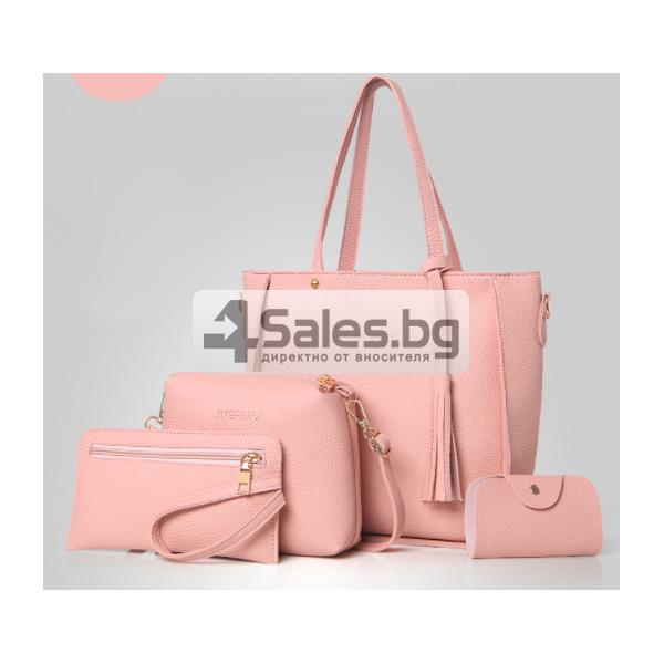 Чанти 4 броя бохо стил BAG55 5