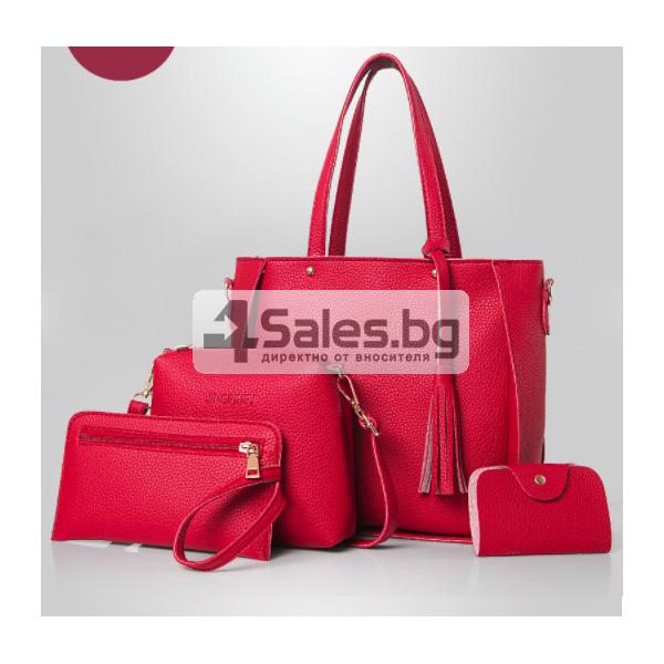 Чанти 4 броя бохо стил BAG55 7