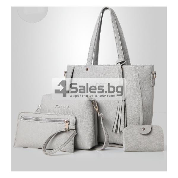 Чанти 4 броя бохо стил BAG55 8